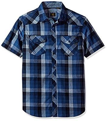 LEE Men's Cleff Shirt Plaid
