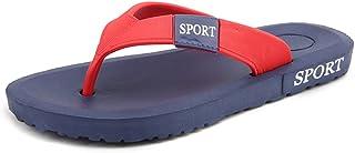 Men Sandals Mens Thong Classic Flip Flops Sandals Slipper Comfortable Solid Summer Beach Sandals Comfortable