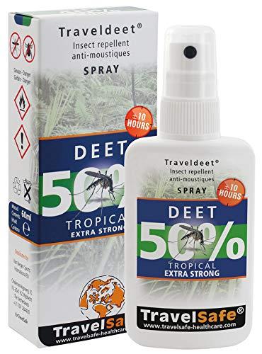 TravelSafe TravelDEET 50% – Spray 60 ml