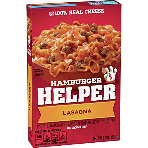 Betty Crocker Hamburger Helper, Lasagna, 6.9 oz