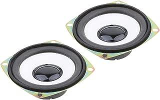 KESOTO 2X 3 Inch 4Ω HiFi Full-Range Speaker for DIY DVD Box Professional Audio Speaker