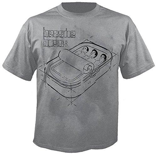BEASTIE BOYS - Sardine Blueprint - T-Shirt Größe XXL