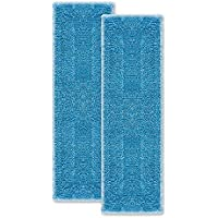 Polti Moppy PAEU0342 Kit de 2 Paños para la Limpieza de Todo Tipo de pavimentos y Superficies Verticales, Gran Poder de absorción, Microfibra, Azul