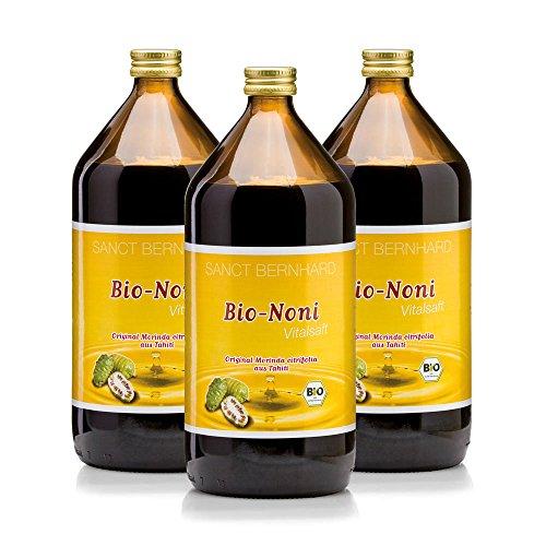 Sanct Bernhard Bio Noni Vital-Saft 1000 ml