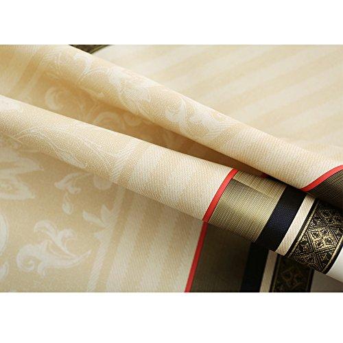 Qualsenテーブルクロス長方形北欧テーブルカバー撥水防水防油PVC製おしゃれ137×200cm(テーブルランナースタイルNo.1)