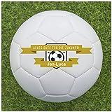 Fußball Abschiedsgeschenk für Trainer - Fußball selbst gestalten und Personalisieren [Alles Gute für die Zukunft]
