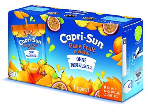 Capri-Sun Pure Fruit & Water Tropical, 10er Pack (10 x 200 ml)