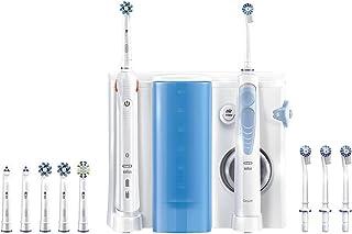 Oral-B Mondverzorging-Center Smart 5000 Elektrische tandenborstel + Oxyjet monddouche, voor effectieve verwijdering van ta...