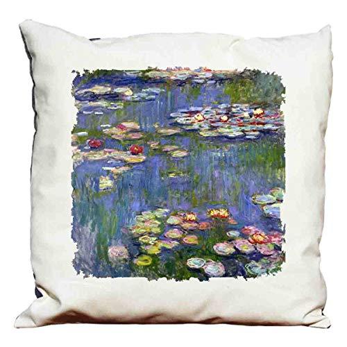 Cuscino decorativo Monet - water lilies