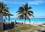 guyuell Rompecabezas para Adultos 1000 Piezas -Viajes - Caribe- Rompecabezas para Niños Juguetes Rompecabezas Educativos Rompecabezas