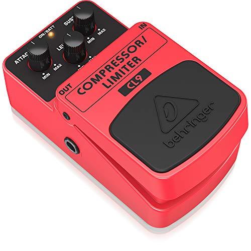 Behringer Compressor/Limiter CL9, COMPRESSOR/LIMITER CL9, Guitar Pedal
