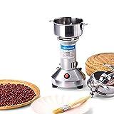 150G Molinillo De Granos Molinillo De Harina Máquina De Polvo De Acero Inoxidable Para Granos De Café Nueces Especias 28000 Rpm 650W