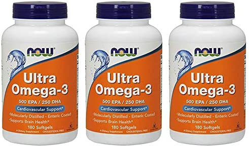 Now Foods Ultra Omega 3 Fish Oil Soft gels 540 Count product image