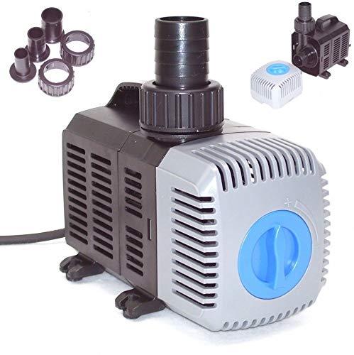 D&L Teichpumpe SuperECO Bachlaufpumpe Filterpumpe Teichfilter Wasser Skimmer Pumpe 55036 8000L AWZ