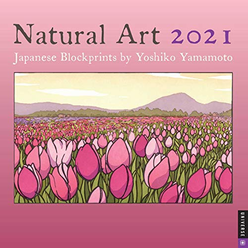 Natural Art 2021 Wall Calendar: Japanese Blockprints by Yoshiko Yamamoto