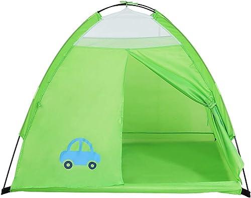 Tente Prougeection de l'environneHommest de Polyester de Maison de Jeu extérieure d'intérieur de Salle de Jeu pour Enfants ZHAOSHUNLI (Couleur   vert)