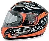 AFX FX-90 W-Dare Helmet , Size: XS, Distinct Name: Safety Orange W-Dare, Helmet Type: Full-face Helmets, Helmet Category: Street, Primary Color: Orange, Gender: Mens/Unisex 0101-5802