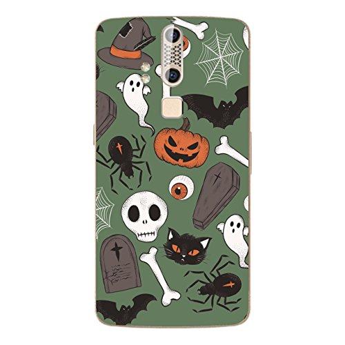 Disagu SF-106600_1211 Design Folie für ZTE Axon Elite - Motiv Halloweenmuster 03