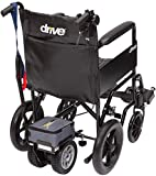 Ruedas Eléctrica Silla de ruedas silla de ruedas, silla de rehabilitación médica for la tercera edad, ancianos, discapacitados Ligera - Dual Power Pack rueda con extraíble paquete de baterías y de act