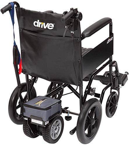 De peso ligero plegable sillas de ruedas eléctrica Silla de ruedas silla de ruedas, silla de rehabilitación médica for la tercera edad, ancianos, discapacitados Ligera - Dual Power Pack rueda con extr