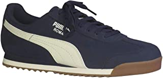 PUMA Mens Roma Smooth Nubuck Sneaker