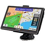 Jimwey Navigationsgerät für Auto Navi LKW Navigation 7 Zoll 16GB Lebenslang Kostenloses Kartenupdate mit POI Blitzerwarnung Sprachführung Fahrspur 52 Europa UK 2020 Karte