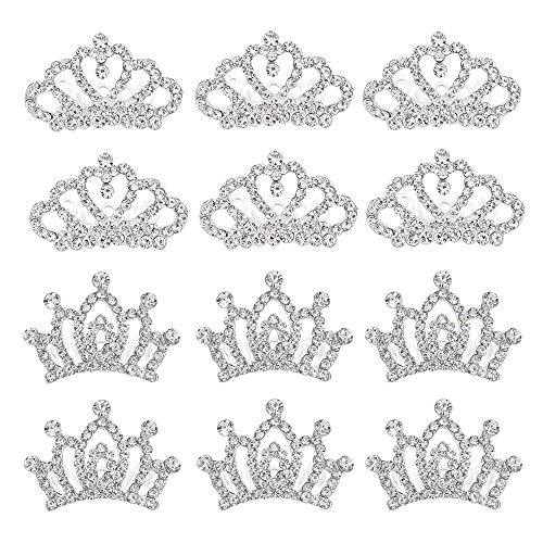 Princess Mini Tiara Crown with Comb for Women Little Girls