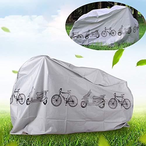 HYSJLS Universal de Bicicletas Lluvia y Polvo Cubierta Impermeable a Prueba de Protector UV Cubierta de la Bici Accesorios for la Bici eléctrica de la Motocicleta Vespa Alfombrilla