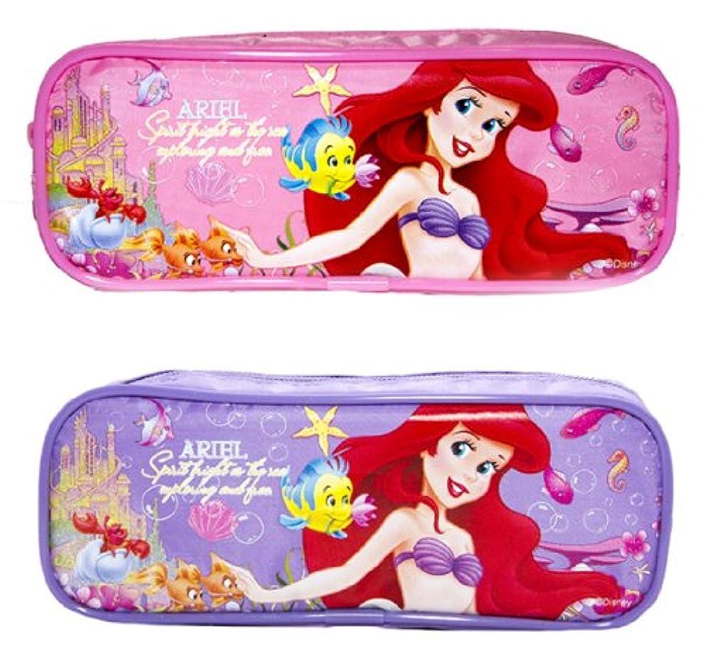 Disney Princess Ariel Pencil Cases Set of 2