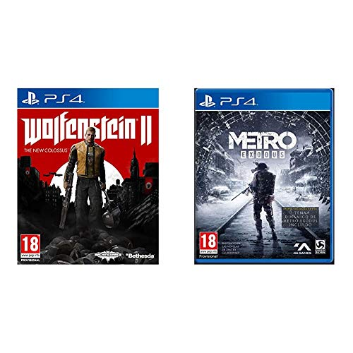 Wolfenstein II: The New Colossus - Day One Edition + Metro Exodus Day One Edition