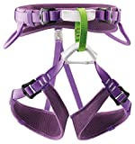 PETZL - Macchu Children's Sit Harness, Violet, 2