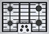 Bosch 500 Series 30' Stainless Steel 4 Burner Gas Cooktop