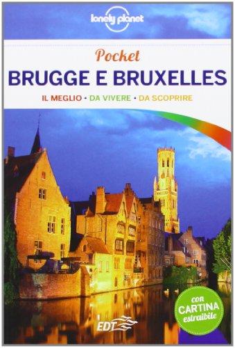 Brugge e Bruxelles. Con cartina