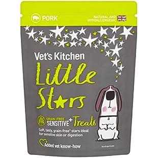 Little Stars Sensitive Grain Free Pork Dog Treats 85g (pack of 8)