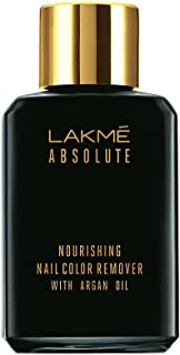 Lakmé Absolute Nourishing Nail Color Remover with Argan Oil, 27ml