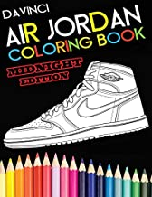 Air Jordan Coloring Book: Midnight Edition (DaVinci Coloring Book Collection)