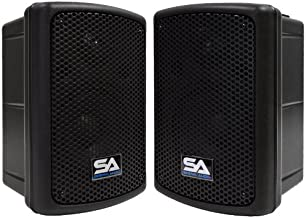 Seismic Audio - PWS-8 (Pair) - Powered PA/DJ 8