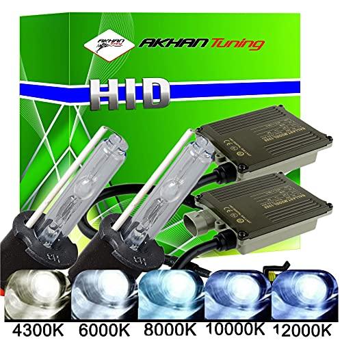 akhan Digital 9–32 V 35 W Canbus Xenon Kit Kit H3 10000 K avec brûleur Xénon HID ballast, lampe et matériel de montage sans erreur et sans scintillement