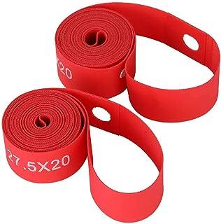 Wear- Bike Tire Liner Rim Tape 2Pcs, för Mountain Bike Red