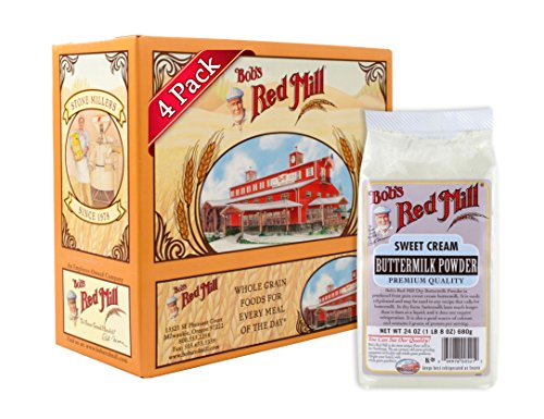Bob's Red Mill Milk Powder Buttermilk, 24 Ounce Packages (Pack of 4)