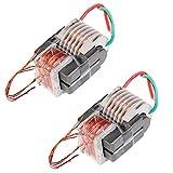 Icstation 15KV High Voltage Transformer Ignition Coil for DIY Electronic Pulse Arc Lighter (Pack of 2)