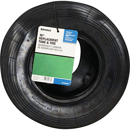 Arnold 8 in. Dia. x 16 in. Dia. 500 lb. capacity Wheelbarrow Inner Tube Rubber