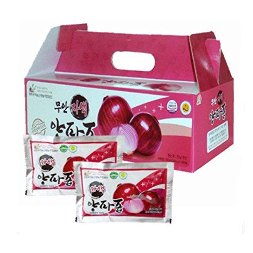 [Muan] Purple Onion Juice 30Pack / Gift/Health Food/Pack/Bundle/Health Drink/Diet foods/Parents Gift/Vegetable