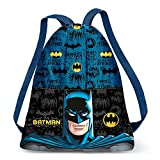 Karactermania Batman Knight-Strap Turnbeutel Bolsa de Cuerdas para el Gimnasio 41 Centimeters (Multicolour)