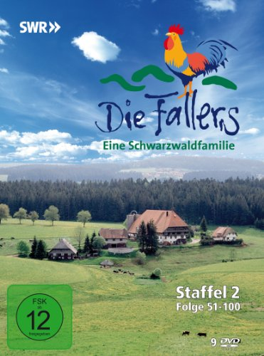Die Fallers - Staffel 2, Folge 51-100 [9 DVDs]