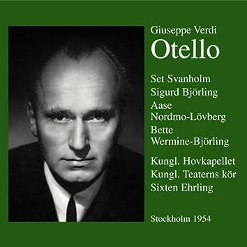 Otello  Stockholm 1953/54