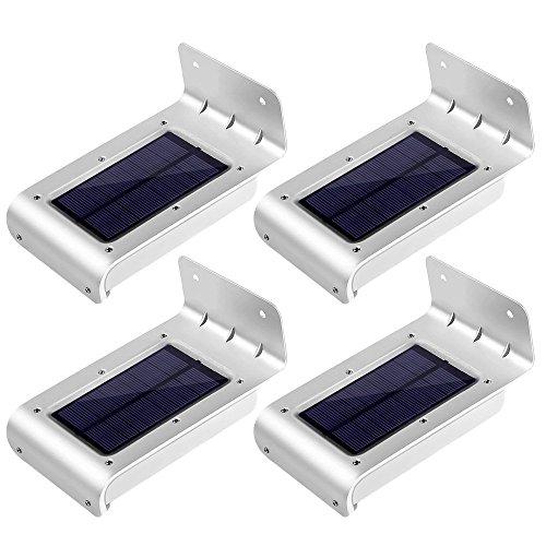 [2ª generación] LE Lámpara Solar LED con sensor, resistente al agua, patio,...