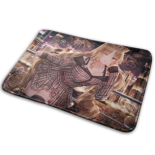 Hangdachang Shi Huai Ya Tomorrow's Ark Home Teppich kann als Wohnzimmer-Dekoration für Esszimmer, Küche oder Schlafzimmer verwendet werden, Größe 40 x 60 cm
