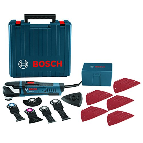 Bosch Power Tools Oscillating Saw - GOP40-30C – StarlockPlus 4.0 Amp Oscillating MultiTool Kit...