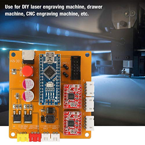 Tablero de control de máquina de grabado CNC